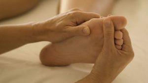 massage des points d'acupuncture